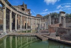 teatro marítimo, villa adriana