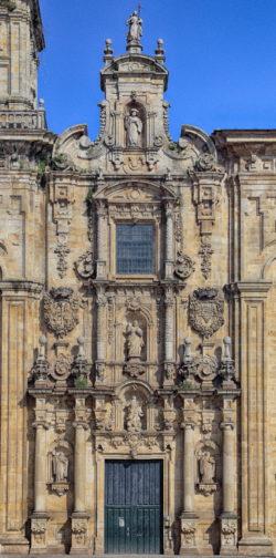 fachada barroca, lourenzá