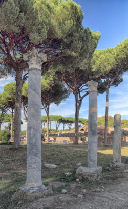 ruinas de ostia roma