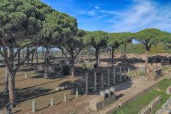 escena del teatro romano