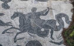 mosaico romano ostia antica