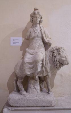 escultura museo ostiense