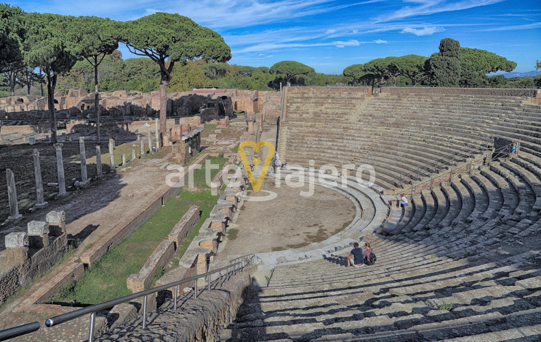 teatro romano de ostia antica