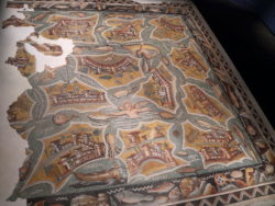 mosaico de las islas mediterráneas