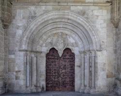 portada románica de la catedral de lugo