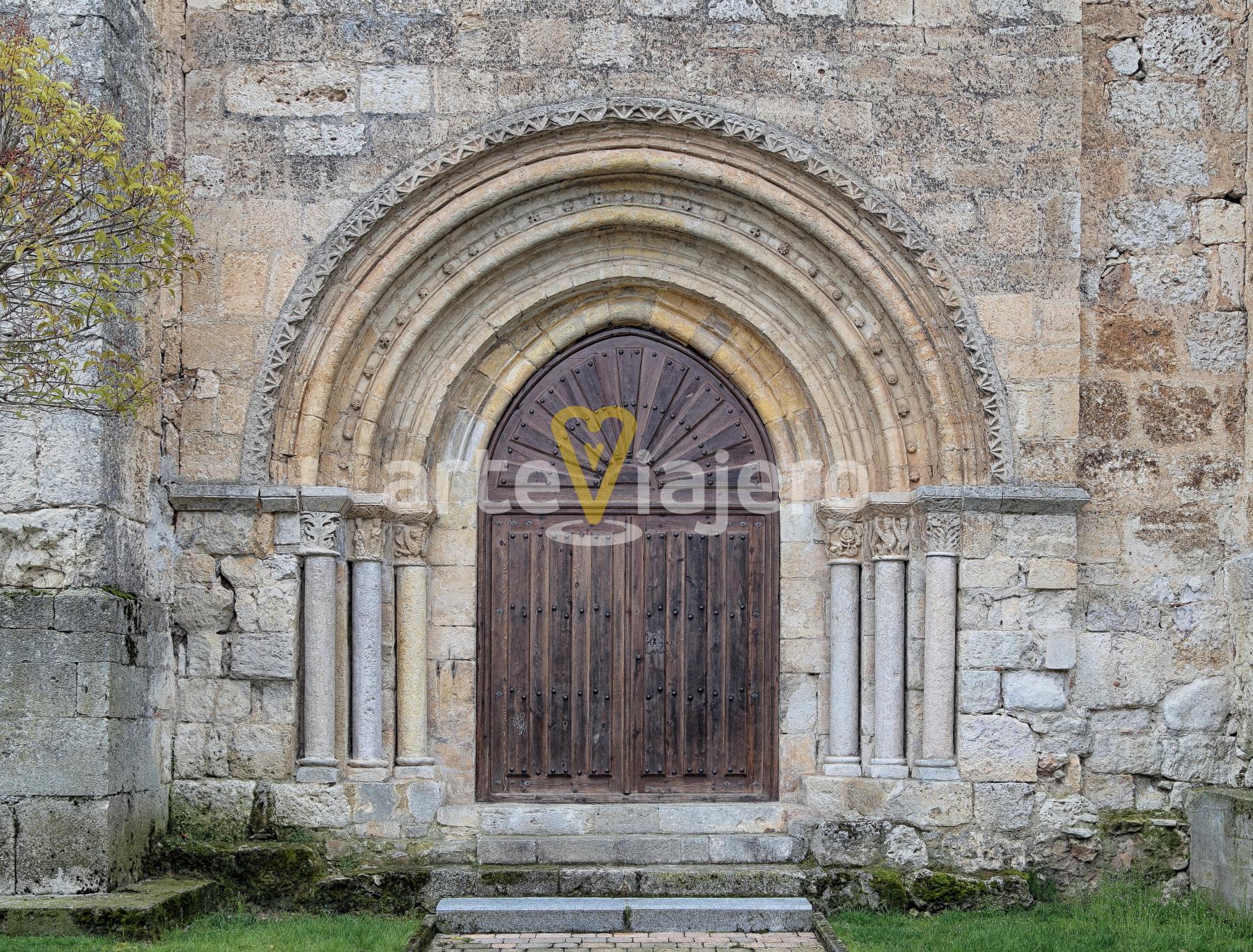 iglesia de arcos de la llana