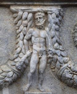 detalle de sarcófago romano