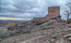 castillo de zafra, campillo de dueñas