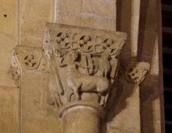 capitel con centauro