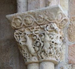capiteles del románico de segovia