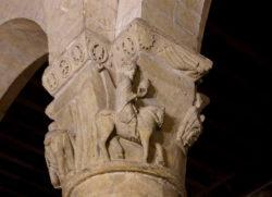capitel de la iglesia de san millán