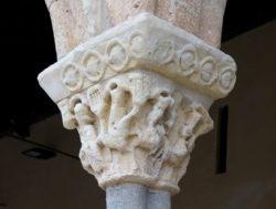 capitel de la iglesia de san lorenzo
