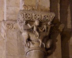 capiteles de la iglesia de san millán