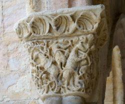 capiteles románicos segovia