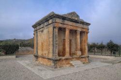 mausoleo romano de fabara