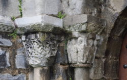 capiteles del románico de navarra