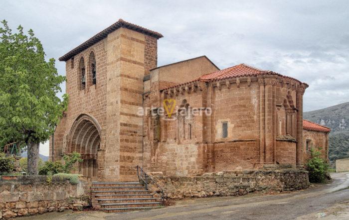 iglesia de navas de bureba
