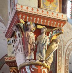 escultura románica en francia