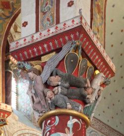 escultura románica francia
