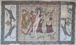 mosaico de baco complutum