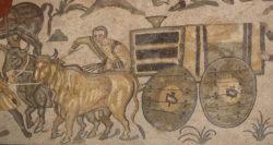 mosaico de la villa romana del casale