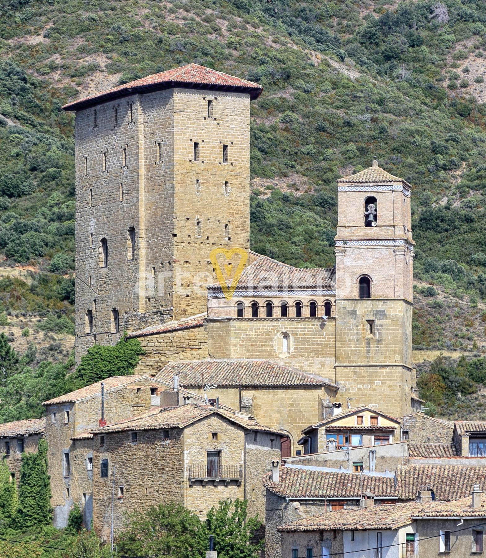 torre del castillo de biel