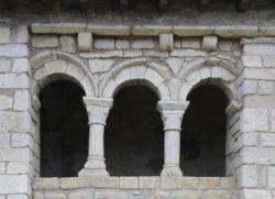 románico porticado navarra
