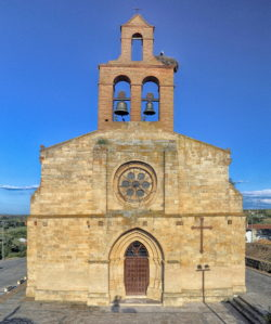 iglesia de santa maría del castillo castronuño