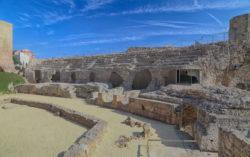 cávea del anfiteatro
