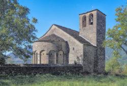 iglesia de orós bajo