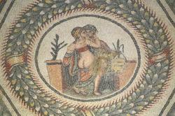 mosaico de eros y psique