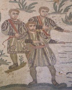 mosaico romano villa romana del casale