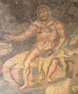 mosaico de polifemo