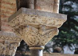 capiteles del claustro de moissac