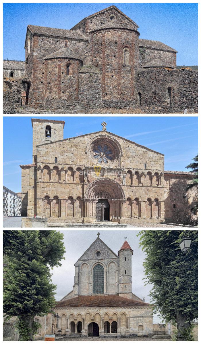 etapas del arte románico