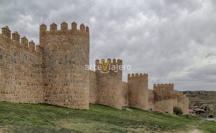 murallas más impresionantes de españa