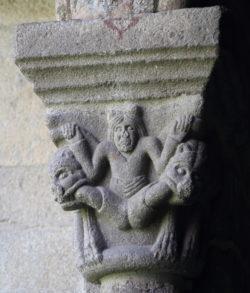 capitel del claustro de la seu d'urgell