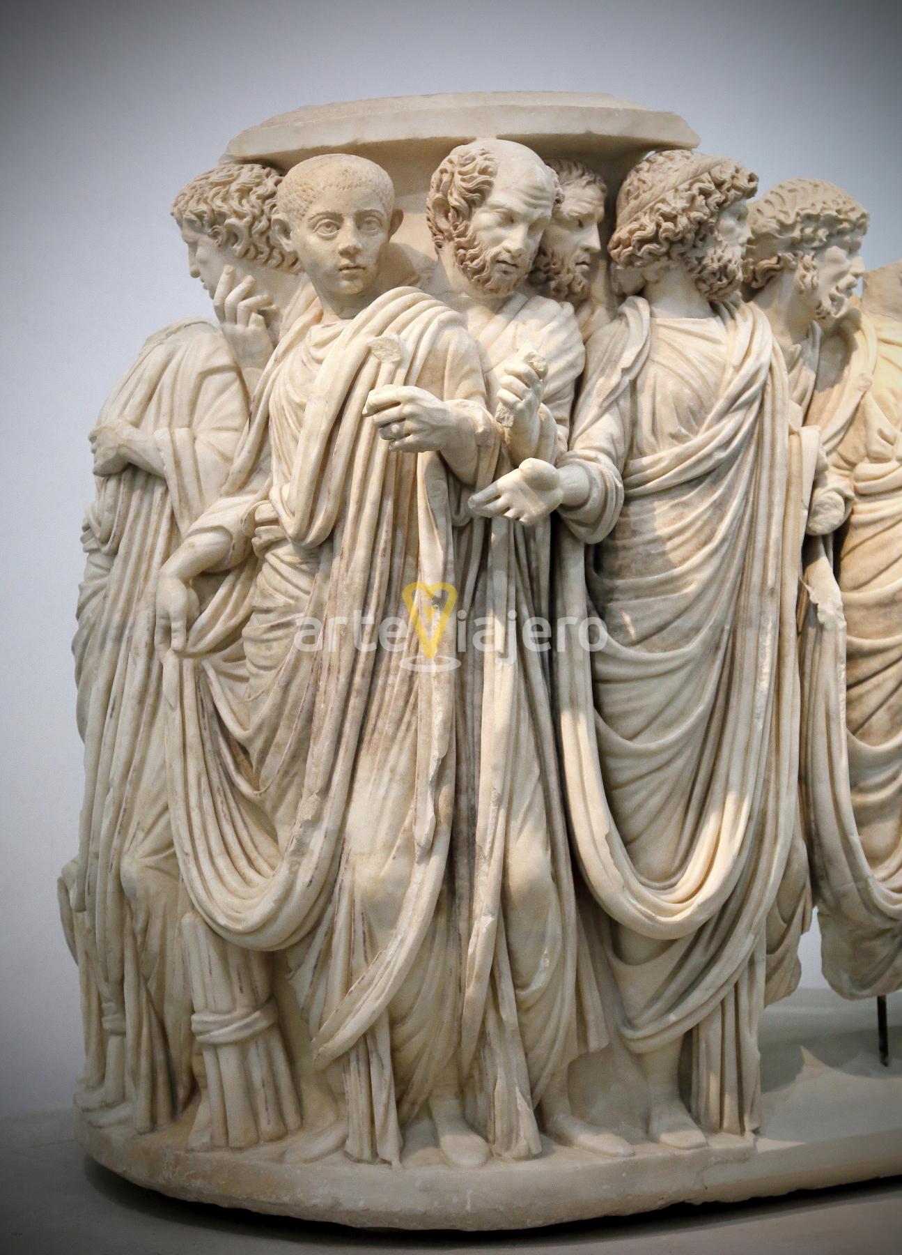 sarcófago de acilia roma