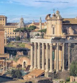 templo romano de antonino y faustina