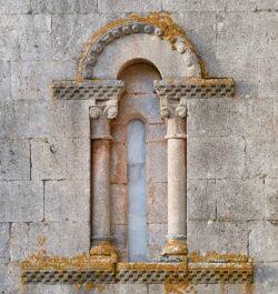 ventana románica arlanzón