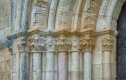capiteles de la ermita de markinez