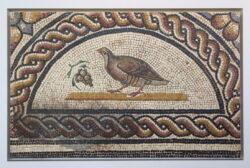 mosaico perdiz