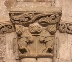 capitel iglesia de san juan de amandi
