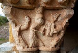 capitel románico la rioja