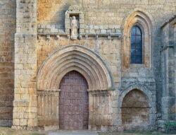 portada y arcosolio