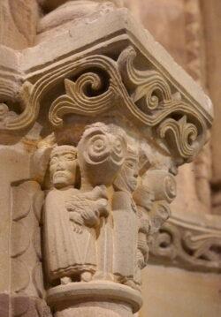 capitel de la presentación en el templo