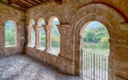 románico porticado en la rioja
