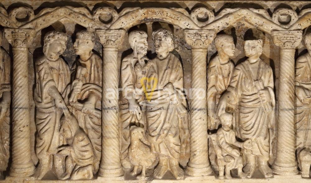 sarcófago paleocristiano de martos