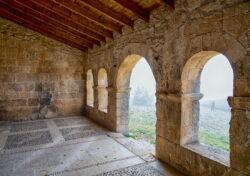 galería porticada románica barriosuso