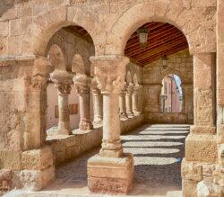 románico porticado soria